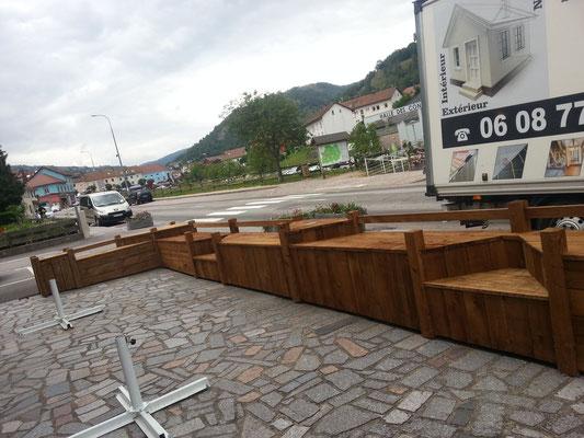 Travaux de menuiseries exterieures chantier : PMU La Bresse