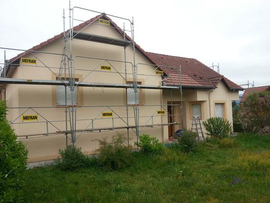 Travaux de peinture en façade