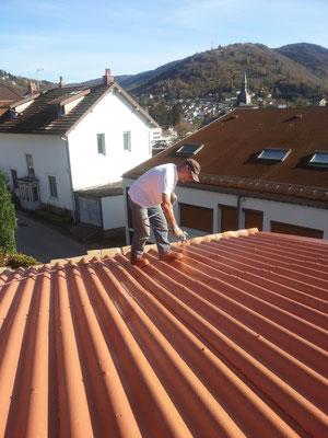 Rénovaiton de toiture chez un particulier