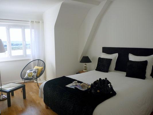 Chambre vue sur la Loire