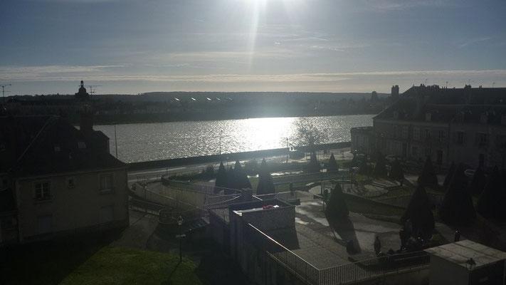 Appart'Louis XII-Blois-vue sur Loire