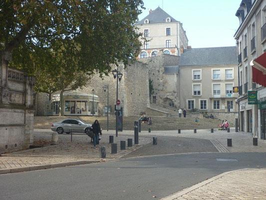 Les grands degrés du château de Blois
