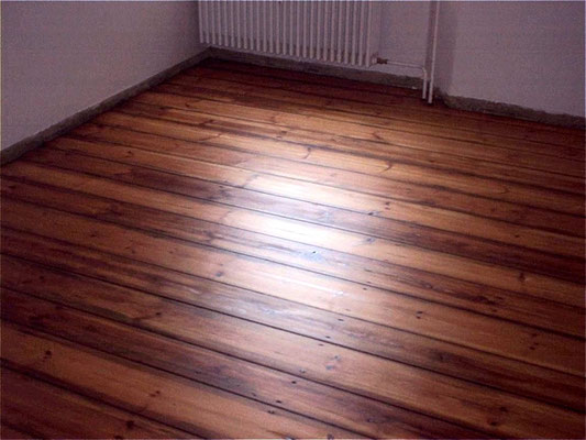 Floorboards with Le Tonkinois satin