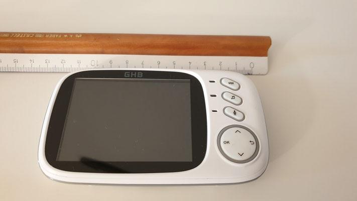 GHB Babyphone - Größenvergleich