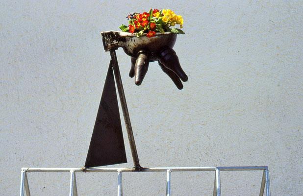 ANK Fahrradständer Olympiasegler-Bauernhof 1992