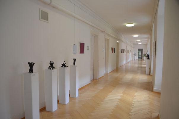 2019 Gemeinschaftsausstellung mit Carola Weber-Schlak  beim Kunstverein Justitia im Landgericht Ravensburg