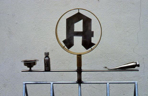 ANK Fahrradständer Apotheke Wangen 1993