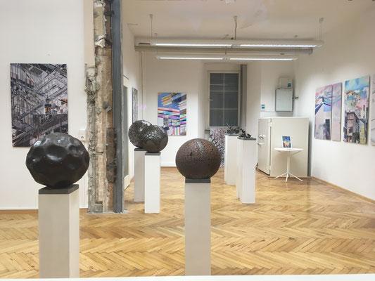 2019 Kunstnacht Ravensburg, Bauhütte mit dem Ravensburg-Weingartener Kunstverein