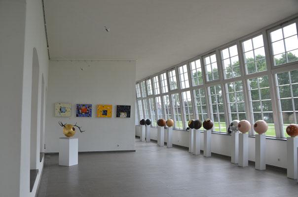 www.kunstarsenal-ravensburg.de  - Blick in die Orangerie Wolfegg