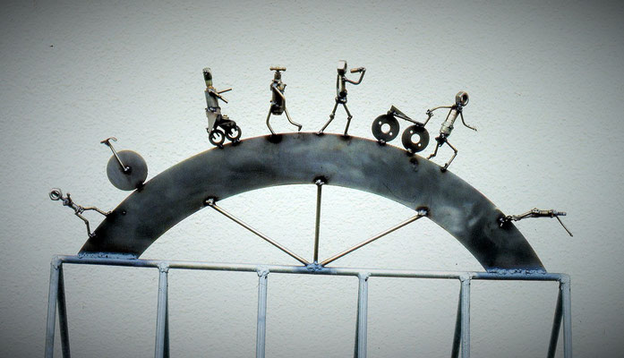 ANK Fahrradständer Triathlonladen Ravensburg 1993