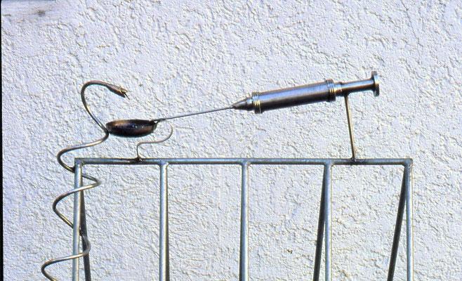ANK FahrradständerArztpraxis Ravensburg 1991