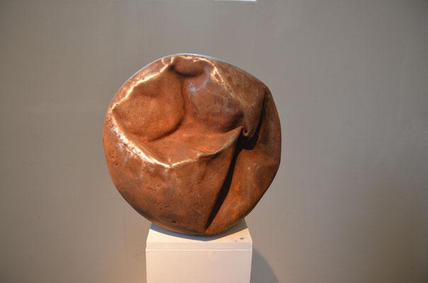 2014 Dr. Dietmar Hawran - www.kunstarsenal-ravensburg.de - Metallobjekt, DM ca. 40 cm