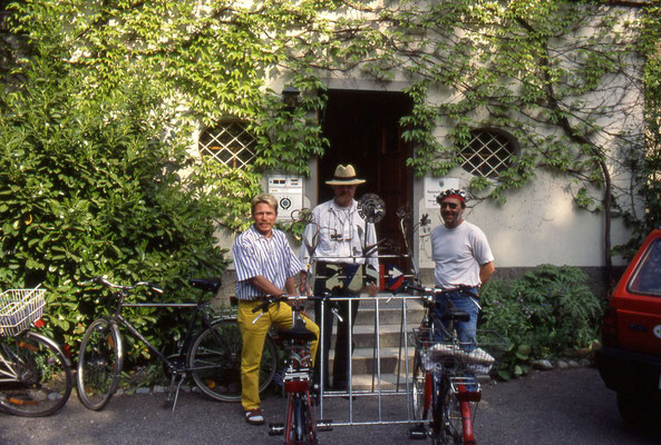 Gruppe ANK beim BUND in Ravensburg, Dr. Dietmar Hawran, Sigi Harder, Manne Zeller (v.l.n.r.)