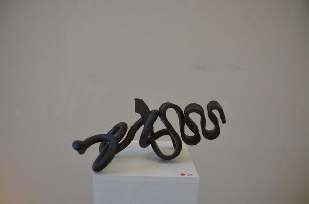 2015 Dr. Dietmar Hawran -  www.kunstarsenal-ravensburg.de -  Schmiedekunst - ca.  15 x - 30 cm