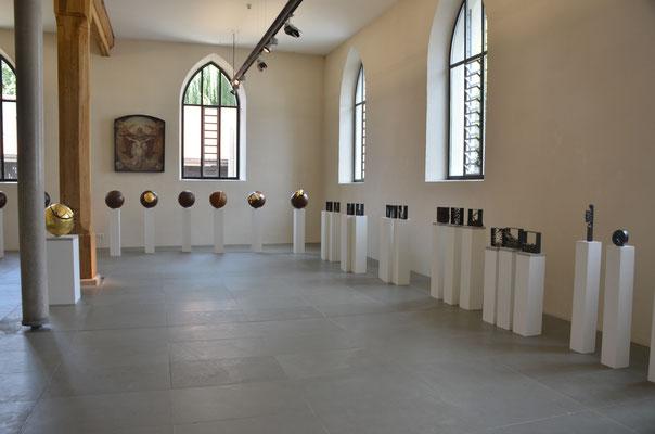 2017 Einzelausstellung im Heilig Geist Spital in Ravensburg