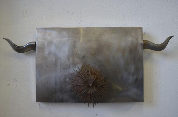 gehörnt, 20 x 30 cm , 1993