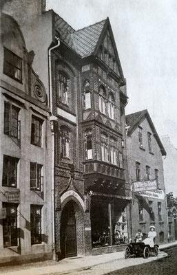 Stork   Untere Schrangenstraße, etwa 1906  (Bld aus der LZ)
