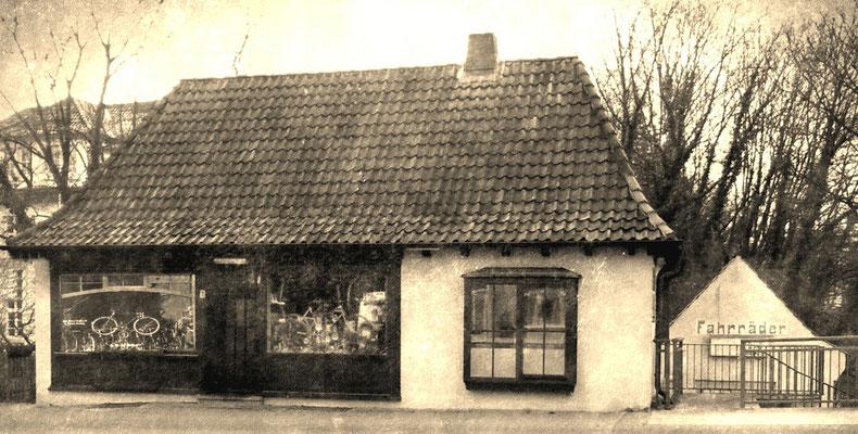 Garbers, Lünertorstraße 7, etwa 1934 bis 2003, heute ein Imbiss