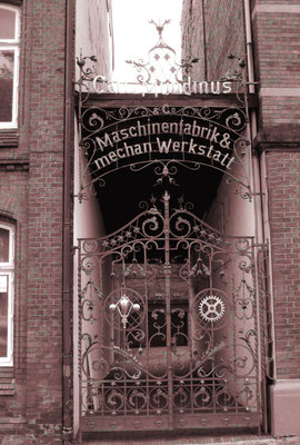 Mundinus  Schlachthausstr. 2,  heute Reichenbachstraße