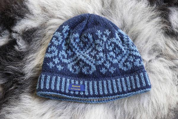 Mütze, Bjarni, Wolle, gestrickt, Geschenk, nordische-wolle, Seehausen