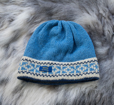 Wollmütze Kosmale Schafwolle Wolle Winter Geschenk Stricken Mütze Seehausen Bayern