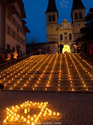 Eine Million Sterne, 1 Million Sterne, Luzern Caritas, Hofkirche, Eine Million Sterne Luzern
