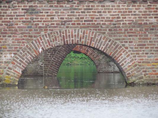 unterer Teil der Zugbrücke