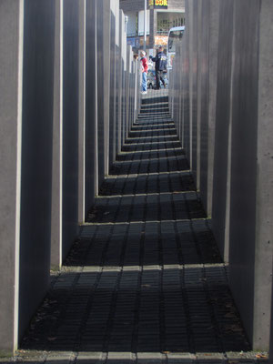 Stelen am Holocaustmahnmal