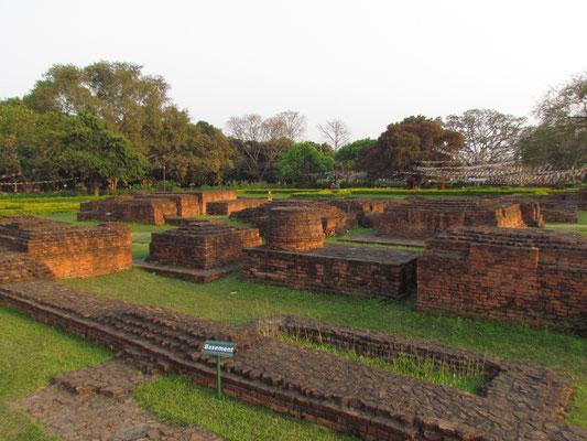 Ruinen des alten Tempels