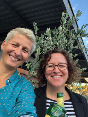 Kristina Diehl und ich