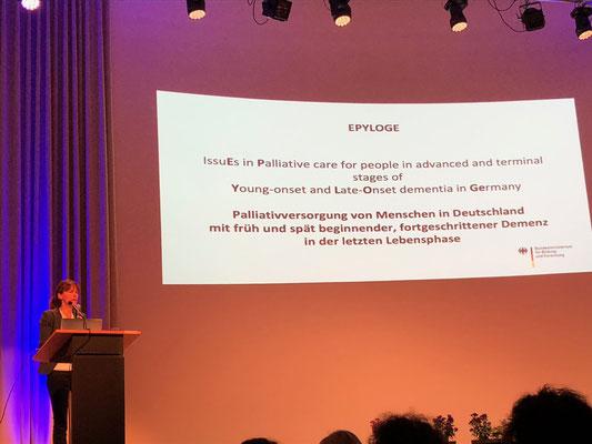 Palliativversorgung - ein tolles Thema trotz allem und eine beeindruckende Ärztin Prof. Dr. Janine Diehl-Schmid