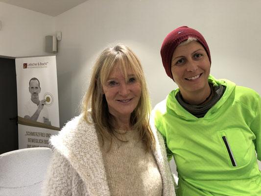Auch Petra Bracht war mit vor Ort und begeisterte zum Thema Ernährung