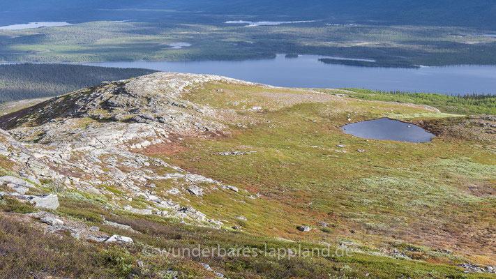 Ausblick auf das Tal des Saggats