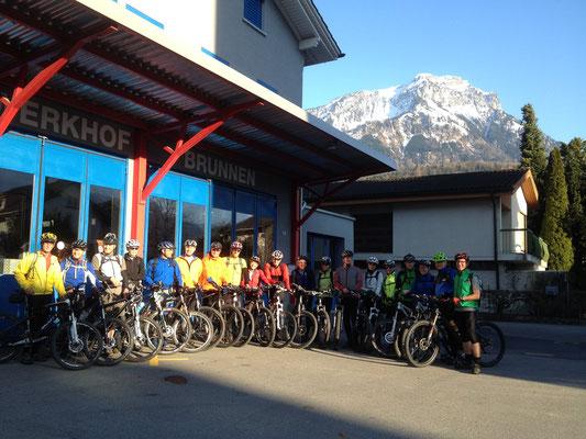 Bikesaison Start 8.4.2015