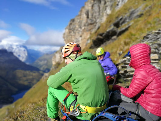 Klettersteig Jochpass : Klettersteig graustock scbrunnen.ch