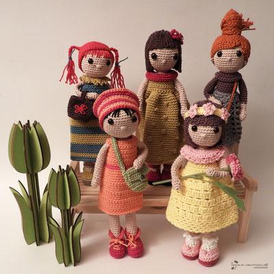 puppen spring girls ©mettler