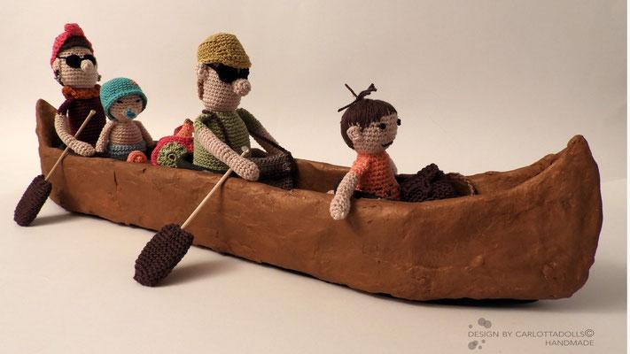 puppen & kanu the canou family ©mettler o