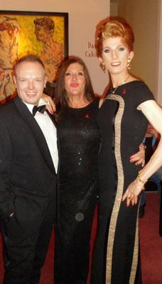 mit Katy Karrenbauer bei der AIDS Gala 2014 im Theater des Westens in Berlin
