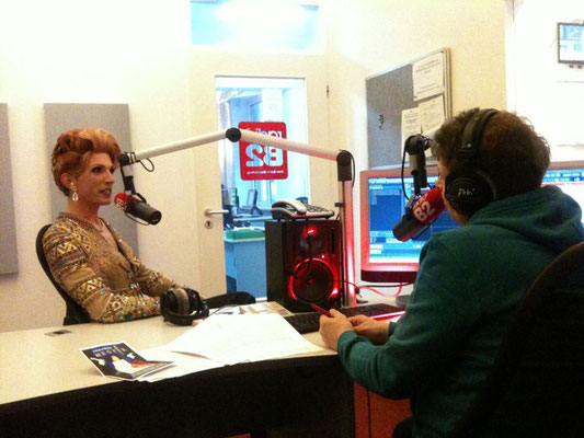 Interview bei Radio B2 mit Michael Niekammer