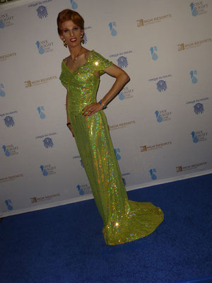 bei der ONE NIGHT FOR ONE DROP WITH CIRQUE DU SOLEIL Gala 2014 in Las  Vegas