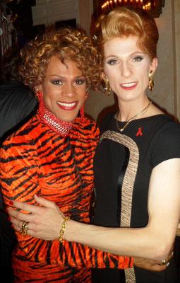 mit Ikenna Benéy Amaechi bei der AIDS Gala 2014 im Theater des Westens in Berlin