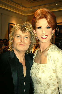 mit Hans Klok bei  MagiCares™ The Magic Charity in London Palladium 2008