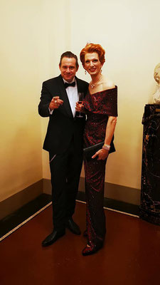 MEGY B und Sascha Vollmer THE BOSS HOSS Semperopernball 2020