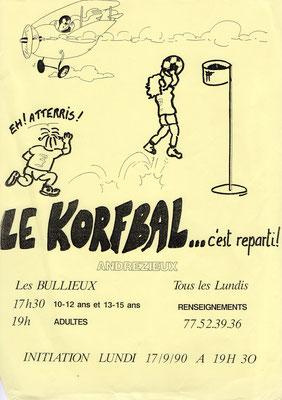 Affiche promotionnelle KAB