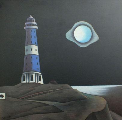 Leuchtturm  1991  110 x 106