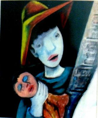 Kind mit Pupe  1972    31 x 38