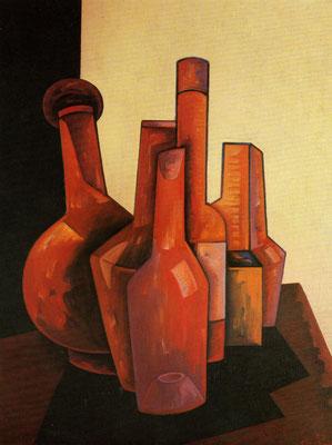 Flaschen  1977  72 x 95