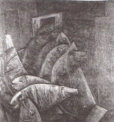 Rote Fische  II  1964