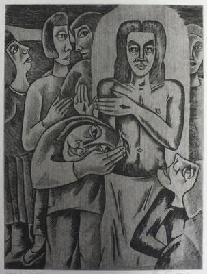 Ungläubiger Thomas I  1990  29,5 x 39        ( 2 )