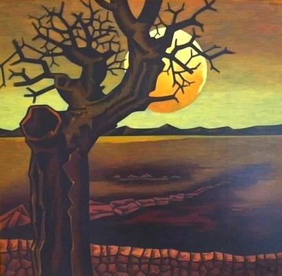 Kleie Landschaft  1881  104 x 100